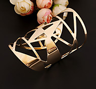 Fashion Metal Cuff Bracelet(Gold)