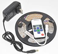 Z®zdm wasserdicht 5m 300x3528 smd rgb geführtes Streifenlicht und 10key rf Steuerpult und 12v3a eu / us / uk Spg.Versorgungsteil (ac110-240v)