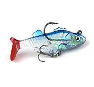 Мягкие приманки / рыболовные крючки / Рыболовная приманка Для рыбалки-1 штук красный / Фантом Металл / Силиконовые-N/AМорское рыболовство
