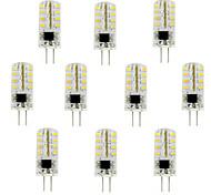 10pcs G4 3W 32x3014SMD 180LM 3000K/6000K WarmWhite/Cool White Light LED Corn Bulb(AC200-240V)