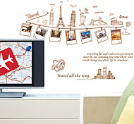 Travelling Memory PVC Wall Sticker
