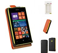 Kemile New Arrival Genuine Leather Flip Case Cover For Nokia Lumia 520 (Assorted Colors)