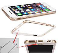Metal Frame Dilica Gel Thin 0.7 MM Super Light 10G  Hockey Protective Shell Of 4.7 Inches  Case for phone6