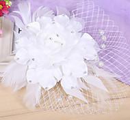 Women Imitation Pearl Flowers With Wedding Headpiece