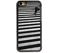 Walking Pattern Aluminum Hard Case for iPhone 5C