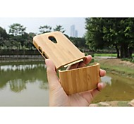 Geniune Luxury Hard Bamboo Wooden Back Cover Protective Case For Mobile Phone  Motorola G2