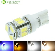T10 W5W 5W 11x5630SMD 550LM Blue//Warm White/Yellow/Cool White for Car Signal Light (DC12-16V)