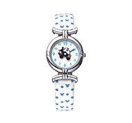 Hot sell famous brand Disney  genuine leather band  fashion cartoon children quartz wacthes DC-54053