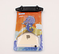 Universal 6 Inch Cartoon PVC Waterproof Phone Case 10 Meters Underwater Phone Bag Pouch Dry No.018 (All Models)
