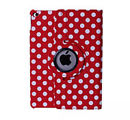 Round Dots PU Leather 360⁰ Cases/Smart Covers iPad Air 2 (Assorted Colors)