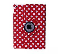 runden Punkten PU-Leder Smart Cover für 360⁰ ipad mini 1/2/3 (verschiedene Farben)