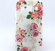 Para Funda Samsung Galaxy Diseños Funda Cubierta Trasera Funda Flor TPU Samsung Ace 4