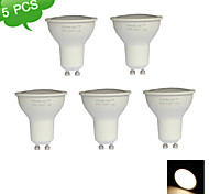 5PCS FRANLITE™ GU10 10W(=Halogen 90W)  3000K Warm White CRI>80 15 X SMD LED 820LM LED Spot Light Bulb (AC 220-240V)
