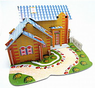 Fashion DIY 3D EPS Cardboard Hand Work Puzzle For Children(4Pcs/Bag)