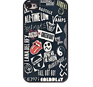 Special Pattern  Aluminum Hard Case for iPhone 4/4S