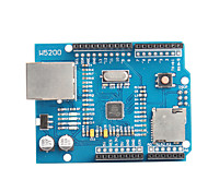 W5200 Ethernet Expansion Board for Internet of Things Smart Home (Works with Arduino Official Boards)