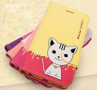 leiers® domi cat ii magnetische Schlag-Lederabdeckung Wallet Card Slot Fall Standplatz für iphone 6 plus (verschiedene Farben)