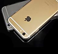 TPU transparente ultrafino de volta para o iPhone 6 / 6s