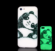 Panda Pattern Glow in the Dark Hard Case for iPhone 5 / iPhone 5 S