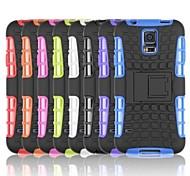 Reifenwellenmuster TPU Tasche mit Halter für Samsung-Galaxie s5