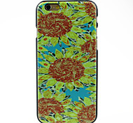 Sunflower in Yellowe Pattern Hard Case for iPhone 6