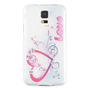 Colored Drawing Silica Gel Soft Case for Samsung Galaxy S5
