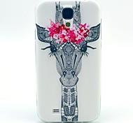 schöne, kleine Hirsche tpu weiche Tasche für Samsung Galaxy i9500 s4