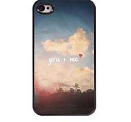 You + ME Design Aluminum Hard Case for iPhone 4/4S