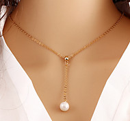 HUALUO®European and American Fashion Trends Temperament Wild Pearl Necklace