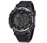 Unisex 3ATM Waterproof Versatile Disc Silicone Strap Digital  Watch(Assorted Colors)