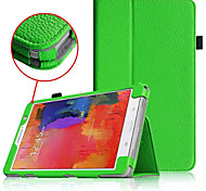 PU Leather Full Body Cases Cases with Stand Auto Sleep/Wake Up Solid Color For SamsungTab PRO 8.4 T320 Multi-color