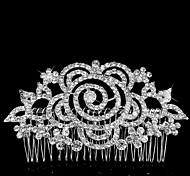 Celada Peinetas Boda/Ocasión especial Aleación Mujer/Niña de flor Boda/Ocasión especial 1 Pieza