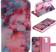 LG G2 mini PU Leather Full Body Cases / Cases with Stand Graphic / Special Design case cover