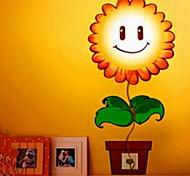 mode créative bricolage 3d stickers muraux lumière de nuit / lumière de décoration