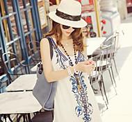 Women's Vintage/Cute/Casual Summer Fashion Straw Fedora Hat