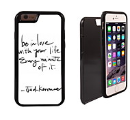 Believe With Your Design 2 in 1 Hybrid Armor Full-Body Dual Layer Shock-Protector Slim Case for iPhone 6 Plus