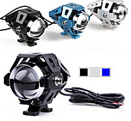 15W CREE XM-L2 T6 LED Motorcycle Spot Fog Head Light Lamp Universal DC 10-60V