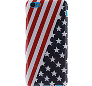 The American Flag Design TPU Soft Case for iPhone 5C