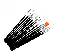 15 PCS Nail Art Brushes Set #0115003