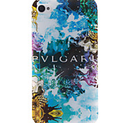 COCO FUN® Colorful Cloud Pattern Soft TPU IMD Back Case Cover for iPhone 4/4S