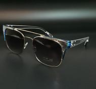 Sunglasses Men's Modern / Fashion Browline Silver Sunglasses Full-Rim