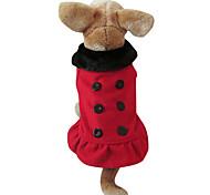 Cappottini - di Pile - Rosso