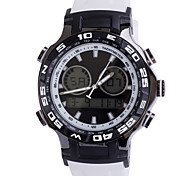 Men's 3ATM Waterproof Versatile  Disc Silicone Digital Watches(Assorted Colors)