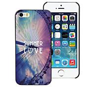 Summer Love Design Aluminum Hard Case for iPhone 5C