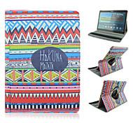 gemalt Dreh pu Tablette Fall für Samsung Tab 10.5 s t800