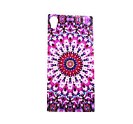 Masonry Pattern TPU Soft Case for Sony Xperia M4 Aqua