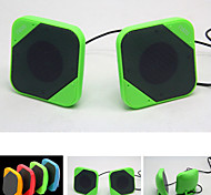 Super Slim USB2.0 Portable Speaker Mini Stereo Speaker for Laptop/Outdoors/PC/Smart Phones