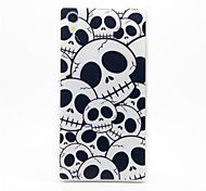 Skull Pattern Plastic Hard Back Case Cover for Sony Z1
