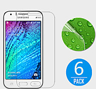 (6 Pcs) High Definition Screen Protector for Samsung Galaxy J1