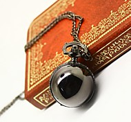 Gun Metal Pocket Watch